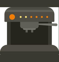 Aeropress coffee machine icon flat isolated vector