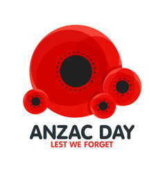 bright poppy flower remembrance day symbol anzac vector image