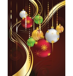 Decorative christmas ornaments2 vector