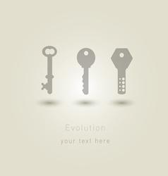 Evolution keys vector