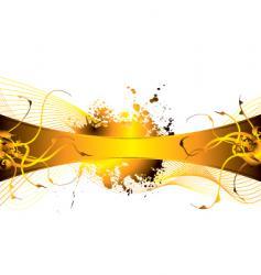 floral burn vector image vector image