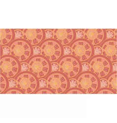 Grapefruit pattern vector