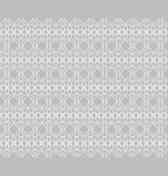 pattern gray ornamental seamless vintage pattern vector image