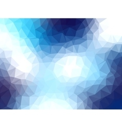 polygonal background for webdesign - blue colors vector image