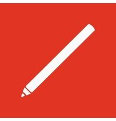 The pencil icon Pen symbol Flat vector image
