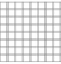 seamless tartan pattern grey kilt fabric texture vector image