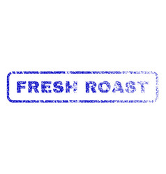 Fresh roast rubber stamp vector