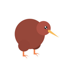 Kiwi bird australia icon on white background vector
