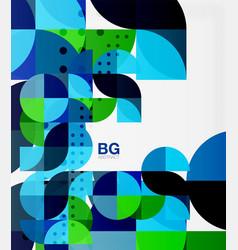 Modern elegant circle banner vector