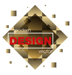 modern icon design logo element with business vector image