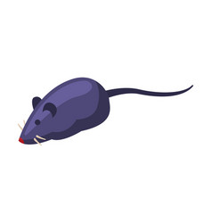 mouse toy pet cat stuff cartoon style vector image