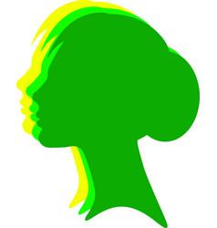 beauty women set icon logo template vector image