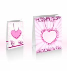 Shopping bags vector