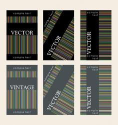 wine labels29 vector image