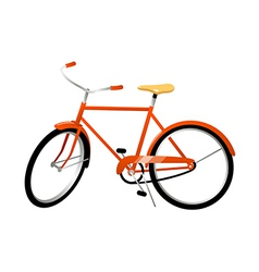 icon bicycle vector image vector image
