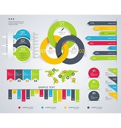 Diagram and Time Line design vector