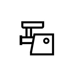 electric meat mincer icon vector image