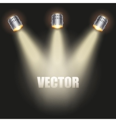 Red Presentation platform vector