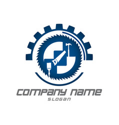 tools logotype vector image