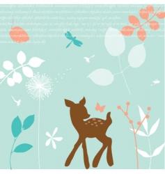 bambi vector image vector image