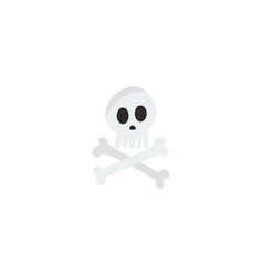 flat icon skeleton element of vector image