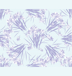 Floral lavender retro vintage background vector