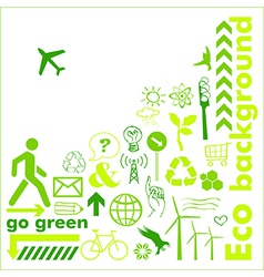Go green card vector