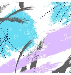 modern expressive grunge wallpaper brush stroke vector image