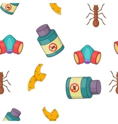 No insects pattern cartoon style vector image