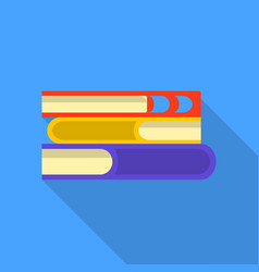 reading icon flat style vector image