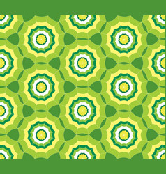 seamless green pattern background with stylized vector image