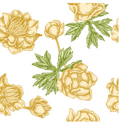 Seamless pattern with hand drawn pastel vector