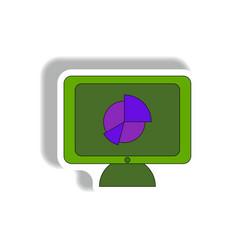 Statistic online in paper vector