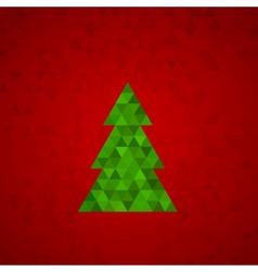 fur-tree vector image vector image