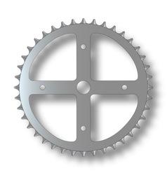 Bicycle cog vector