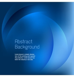 Abstract Blue Background vector