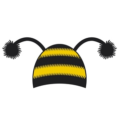 Bee cap vector