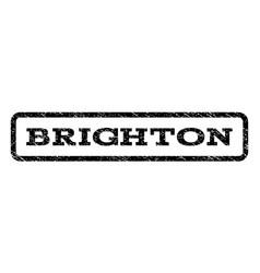 Brighton watermark stamp vector