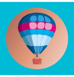 Colorful Hot air balloon vector image vector image