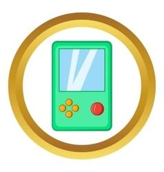 Tetris icon vector image