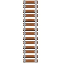railroad vector image vector image