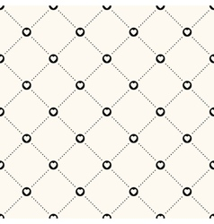 seamless retro pattern vector image vector image