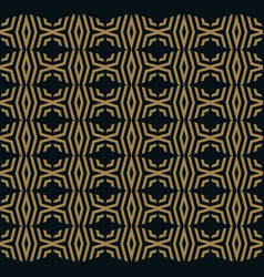abstract seamless ornament lines pattern vector image