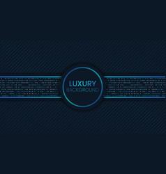 Dark blue luxury background vector