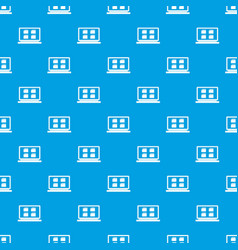 desktop pattern seamless blue vector image