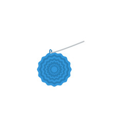 flat icon crochet element of vector image