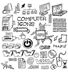 handdrawn computer vector image