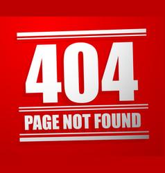 http header code status message not found 404 vector image