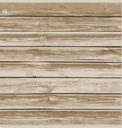 old wooden boards background vector image