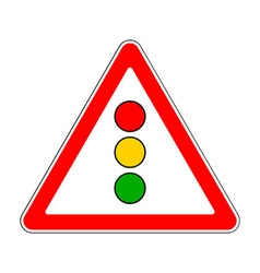 Traffic-road sign vector